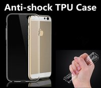 ari bag - Clear Transparent Ari bag Anti shock TPU Case Crystal soft Silicone gel Protective Back cover shell for iphone s plus