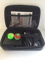 Wholesale Smart Portable eNail Dnail heater Electric D nail dab dabbing box for wax vape with Ti Titanium domeless nails E nail D nail kit