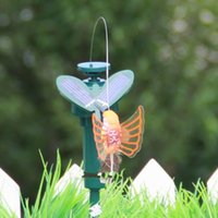 Wholesale Hot Solar Powered Dancing Flying Butterfly Garden Decoration Color At Random