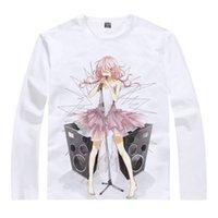beach t shirts for men - Guilty Crown Long Funeral Parlor Cute Womens Long t shirts Anime clothes cute kawaii cool sexy beach Long t shirts for girls