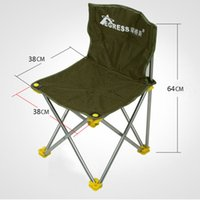 Wholesale Multifunctional portable Folding chairs outdoor leisure travel ultralight fishing stool portable folding chair recliner field Fishing chair