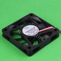 Wholesale 10pcs set DC V pin x60x10 mm Mini Motor Cooling Cooler Fan fan motor fan distributors