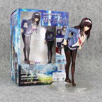 abs scale - 24CM Saenai Heroine No Sodate kata kasumigaoka utaha Scale ABS Action Figure Collectable Model Toys retail