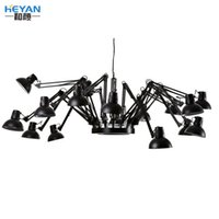 Wholesale Moooi Dear Ingo head E27 living room spider flexible pendant light study light with remote control