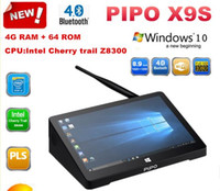 Wholesale Pipo x9s Mini PC Intel Cherry trail Z8300 Quad Core Windows GB RAM GB ROM HDMI Media Box Smart TV Box