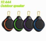 Mini Altavoz Y2 con altavoces inalámbricos Bluetooth llevó la luz Subwoofers portátil estéreo de alta fidelidad del amplificador del jugador de MP3 para Android IOS Teléfono