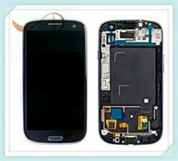 bar repair kit - Front Glass LCD Digitizer Full Complete Assembly with Frames for Samsung Galaxy S3 I9300 I939 I9305 Free Repair Kits Sent