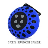 Wholesale Mookon Outdoor Bluetooth Waterproof Speaker MM Loud Speaker NFC Bluetooth Speaker Unique Design Speaker for All sports activities Blue
