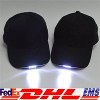 angle ball - 2016 lighted Cap Ball Cap Hat Winter Warm Beanie Angling Hunting Camping Running Black Navy LED Hat XL T103