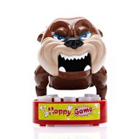 Wholesale Aicen Angry dog Do Not Touch Bulldog s Bones Watch Out Biting Your Finger Funny Toys Game for Kids