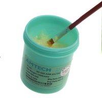 bga flux paste brush - Original AMTECH NC ASM UV TPF g Solder Flux Soldering Paste Brush For BGA SMD SMT Reballing Rework Welding Repair