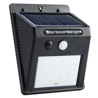 automated light switches - Solarstars Solar Motion Sensor Light LED Outdoor Garden Security Wall Light Waterproof automated switch protection design builtin battery