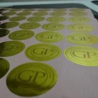 al por mayor etiquetas de diseño de impresión-10000 piezas / set! De encargo del holograma etiqueta pegatinas de impresión, láser impermeable etiqueta engomada frágil, diseño libre!