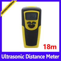 Wholesale Portable black and yellow m distance laser point meter ultrasonic distance measure MOQ