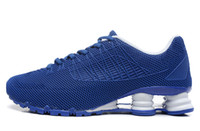 Wholesale New arrive shox turbo men running shoes cheap sale shox sport breathable outdoor walking shoes size