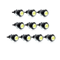 Wholesale Car styling MM Led Eagle Eye DRL Daytime Running Lights Source Backup Reversing Parking Signal Lamps Waterproof Car led