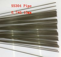 Wholesale 0 x0 mm Hard Condition Stainless Steel capillary pipe SS304 small tube About mm pc