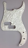bass pickguard - For US Standard Precision Bass Pickguard replacement Ply White Preal
