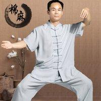 art clothing patterns - tai chi clothing cotton and flax Taijiquan clothes long sleeve short sleeve linen clothing martial arts Kung Fu Uniform