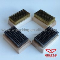 Wholesale 10 Brass Wire Diameter Brush for Chrome Anilox Cleaning