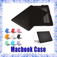 Wholesale Frosted Matte Hard Rubberized Shell Macbook Skin Cover Case Protective Cases for Macbook Air Retina Pro inch