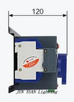 ats power switch - High quality P A V MCB type blue color Dual Power Automatic transfer switch ATS