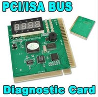 Wholesale PCI ISA Motherboard Tester Diagnostics Display Digit PC Computer Mother Board Debug Post Card Analyzer