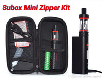 Kanger v2 e cig - Kanger Subox mini starter kit zipper kit with Watt Mod battery OCC Coil Subtank Mini v2 kangertech e cig kit