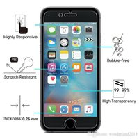 anti bubbles - 2 D HD Ultral Clear Tempered Glass Protector Shatterproof Bubble Free for iphone G inch Plus inch