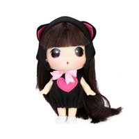 barbies fashion - 9cm fashion doll barbie girl cute Cartoon Toys Cute Dolls Girl for Birthday Children Gifts
