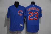 athletic shorts for men - Chicago Cubs Ryne Sandberg Jerseys Sports Team Uniforms Discount Baseball Shirts Best Athletic Flexbase Jerseys Sports Shirts for Men
