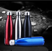 Wholesale Newest Stainless Steel Cups Vacuum Cup Sports Kettles Thermos Bottles Sizes ml ml ml Colorful Good Quality h010