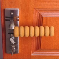 Wholesale child safety door screw type door handle cover bumper door handle protective of doors case baby safety gate puerta baby security