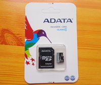Wholesale 100 Brand New Adata A Data Class Micro SD Cards MicroSD Card with Free SD Adapter
