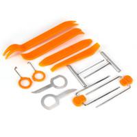 auto interior trim removal tool - Set Auto Door Clip Interior Panel Trim Dash Radio Tools Kits Audio Removal Open Installer Pry Tool For Car