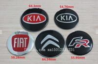 aluminium center - 4 for KIA Aluminium Alloy Car Wheel Center Hup Cap Emblem Logo Decals Decoration for KIA Car Wheel Center Hup Badges