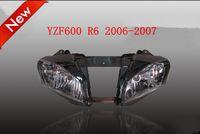 Universal headlight assembly - Headlight Assembly FIRT FOR Yamaha R6 YZF R6 Headlight light Clear