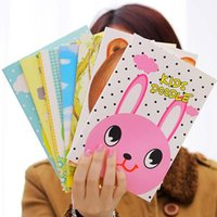 Wholesale 4pcs Lovely Cute Notebooks For Writting Daily Memos Notebook Stationery Office School Supplies Fashion Kids Gifts Prizes
