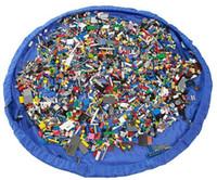Gros bébé enfants tapis de jeu 150cm jouant tapis sac de rangement de jouets portable de stockage de jouets sac Blanket Boîtes Tapis Jouets Organizer DHL gratuit
