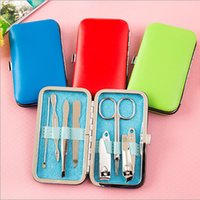 Wholesale Manicure Set Nail Care Set All round Nail Scissors Manicure Tool Case Manicure Kit set Nail Clipper Stainless Kit