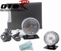 Wholesale MM White Black Face D FI Style No Logo Air fuel ratio gauge with peak function Air fuel gauge AutoMeter Auto Gauge