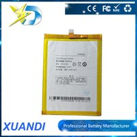 Wholesale Replacement battery For Coolpad L L C00 T00 S6 Buil In Li ion V mah Battery Cell Phone Battery Long Standby DHL