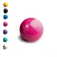Wholesale LB Hand Held Fitness Ball with Soft Vinyl Covering Dumbbells Yoga Ball