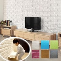 baby bedroom accessories - 2016 new D Wall Stickers Diy Soft baby wall carpet cm PE bubble brick tile floor tile home accessories