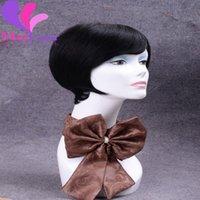 Wholesale Hot sale Malaysian Virgin Remy Human Hair Wig Short B High Quality Wig Malaysian Unprocessed quot Human Hair Wig
