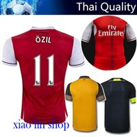 Wholesale AAA TopThai jerseys Arsenal Soccer Jerseys football shirts ALEXIS WILSHERE GIROUD CHAMBERS OZIL ET