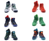 Wholesale 2016 New Crazy Explosive Basketball Shoes colors men sizes Wiggins high cut shoes mens fashion basketballer sports shoes sports shoe