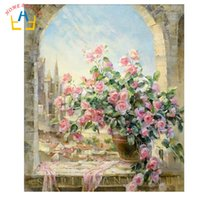Wholesale HOME BEAUTY digital oil painting by numbers diy home decoration paint on canvas gift craft picture coloring by numbers G134