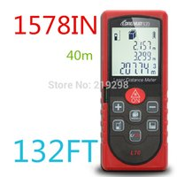 area electronics - Laser distance meter m ft with Bubble Level Tool handheld infrared measure instrument electronic ruler Area Volume M in Ft