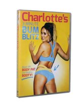 Wholesale New arrival Charlotte Crosby s Minute Bum Blitz DVD Branded New